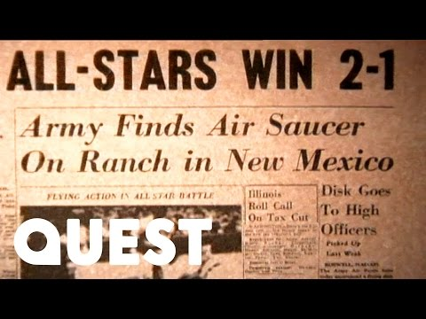 Flying Saucer Found In New Mexico | The World's Strangest UFO Stories