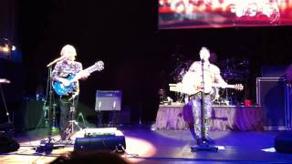Yes Live at de Vereeniging Nijmegen November 21st - Life on a film set