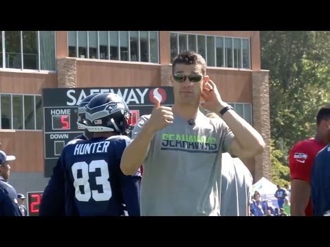 Mic'd Up: Seattle Seahawks Wide Receivers Coach Dave Canales