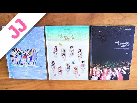 Summer Nights - TWICE Album Unboxing | JJ Once