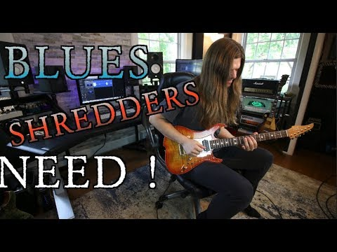 Blues Licks Shredders Need!