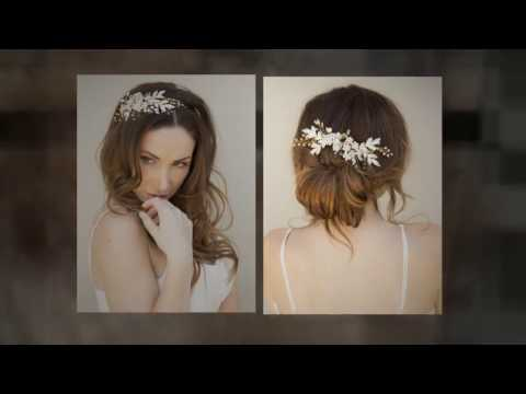 December Look Book by Hair Comes the Bride - Bridal Hair Accessories
