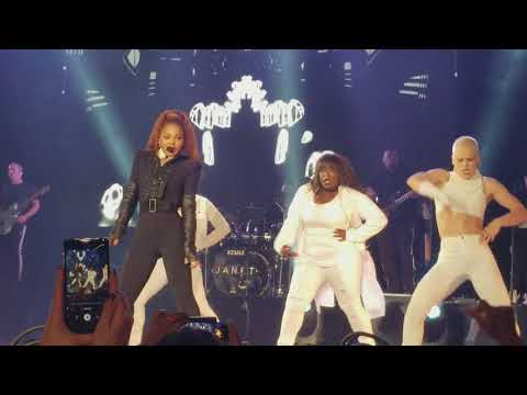 Janet Jackson state of the world tour Denver, Colorado