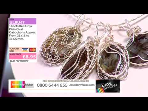 Kyanite for the Late Show (JewelleryMaker) 24/08/2014