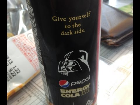 Star Wars Pepsi Energy Drink & other Japanese beverages