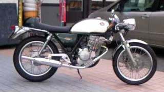 Repeat youtube video cafe racer HONDA GB250 ライダーズカフェMACHⅢ