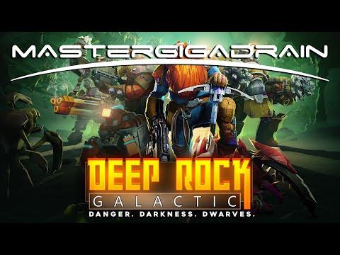 Dwarf mining adventure | Deep Rock Galactic | MasterGigadrain