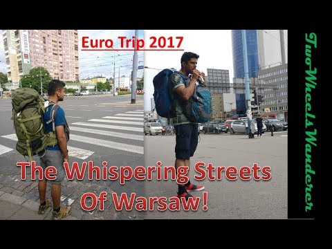 Europe Trip 2017- Chapter 1 // WARSAW (Poland) !