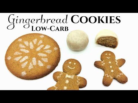 Low-Carb Gingerbread Cookies & Pfeffernusse | Keto + Diabetic-Friendly