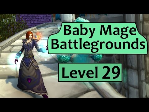 Baby Frost Mage Battlegrounds - Level 29 WoD Mage PvP