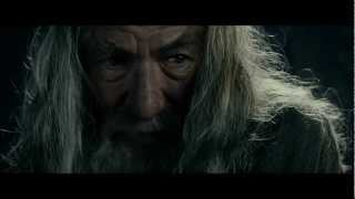 LOTR The Fellowship of the Ring - Extended Edition - Gandalf speaks to Frodo in Moria