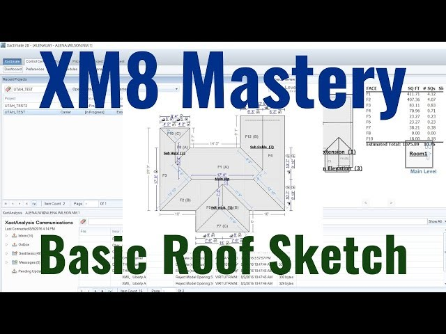 Basics of Roof Sketch