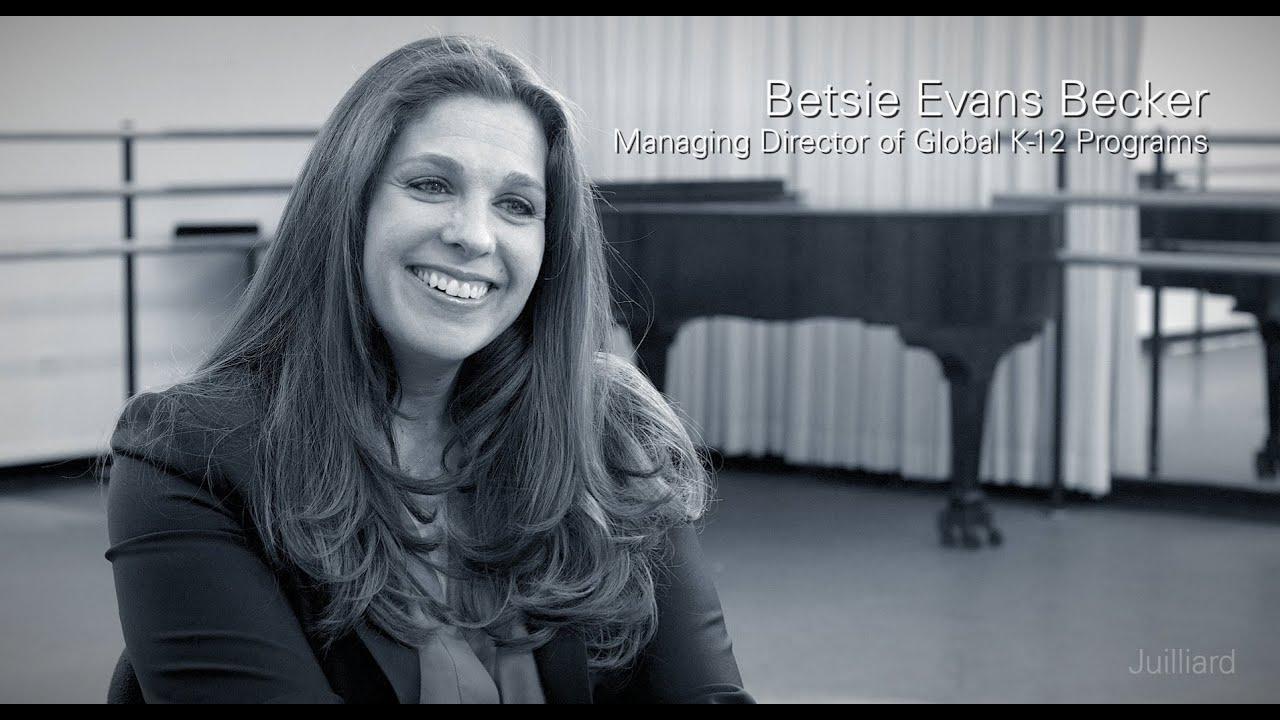Juilliard Snapshot: Betsie Becker's Favorite Juilliard Memory