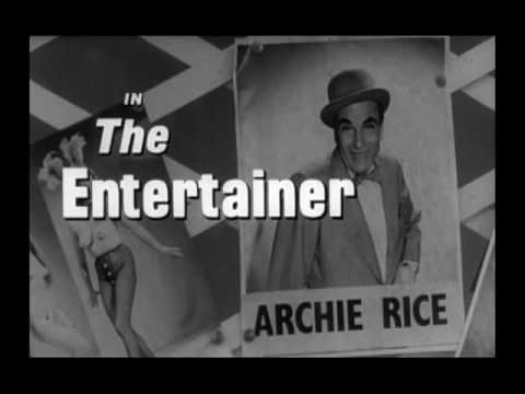 291 THE ENTERTAINER 1960