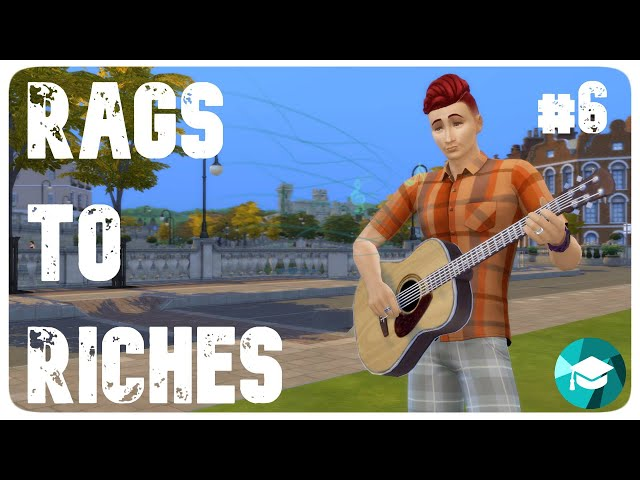 The Sims 4: Rags to Riches | Discover University | Illegális gitár biznisz #6