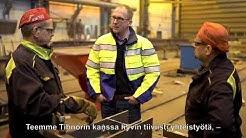 Tibnor ja Kavamet - yhteistyötä yli 30 vuotta