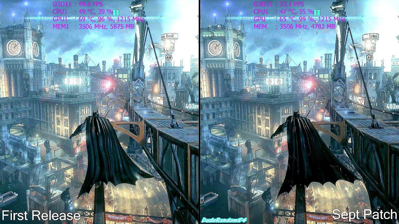 Batman Arkham Knight PC Patch 2 Beta - Revoked Patch