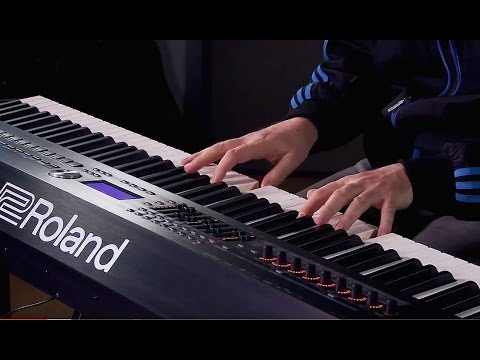 Roland RD-2000 - All Playing, No Talking!