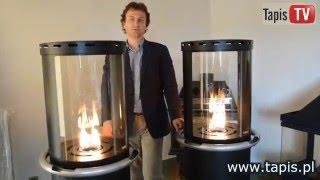 TAPIS TV - LAMPA GAZOWA THE TUBE OGRZEWACZ PROMIENNIK TARASOWY OGRODOWY - PIECYK GAZOWY