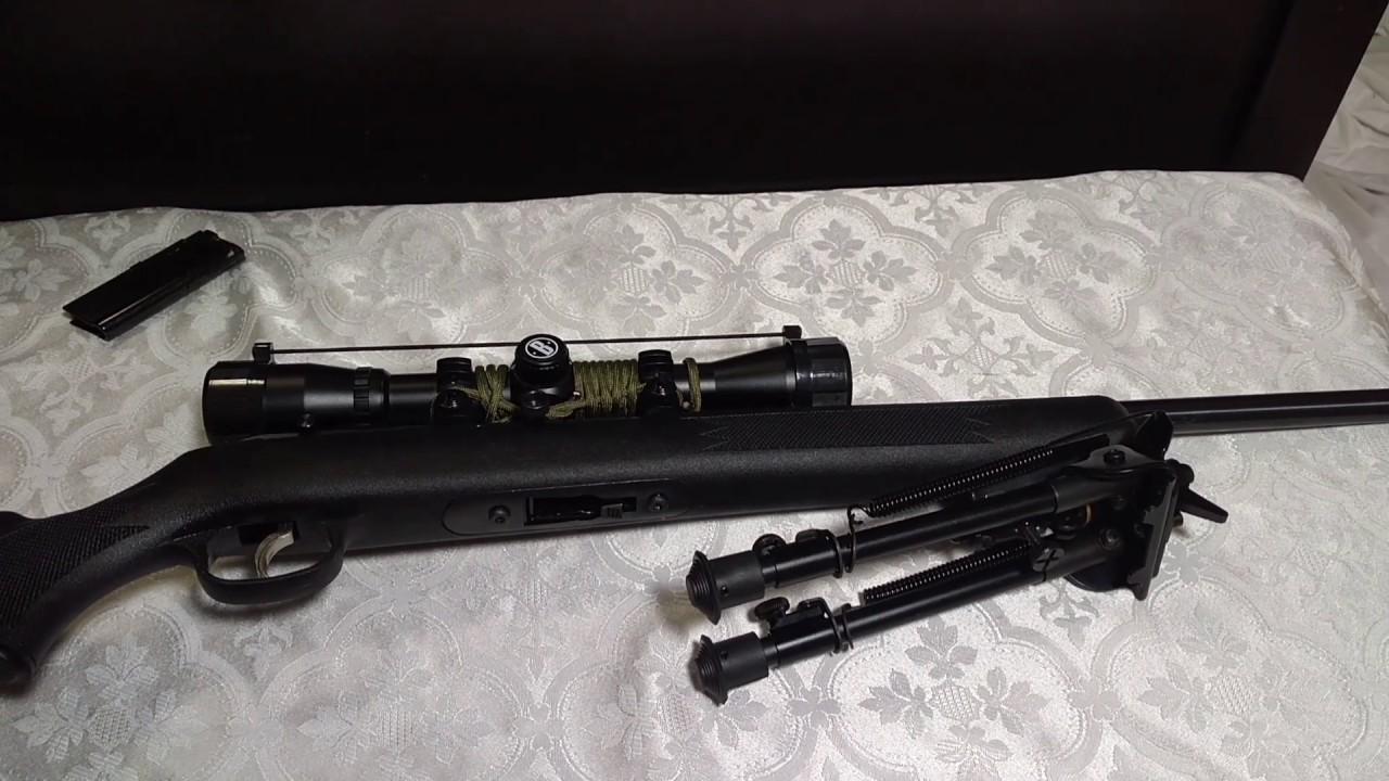 Mounting a swivel bipod on a Savage 64  22 lr!!!!