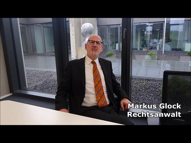 Markus Glock Rechtsanwalt Ansbach Vorstellungsvideo