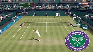 Tennis Elbow 2013 - WIMBLEDON 2016 - Andy Murray vs Rafael Nadal 2015 GAMEPLAY (MAXOU PATCH)