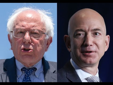 Bernie Sanders Forces Amazon to Raise Minimum Wage to $15 an Hour