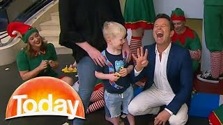 Cute Kid's Funny Answer To Simple Question | TODAY Show Australia