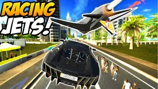 Racing Against A FIGHTER JET in a LAMBORGHINI! - Forza Horizon 3 Gameplay (Hot Wheels DLC Completed)