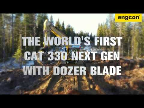 Cat 330 Next Gen with Dozer Blade