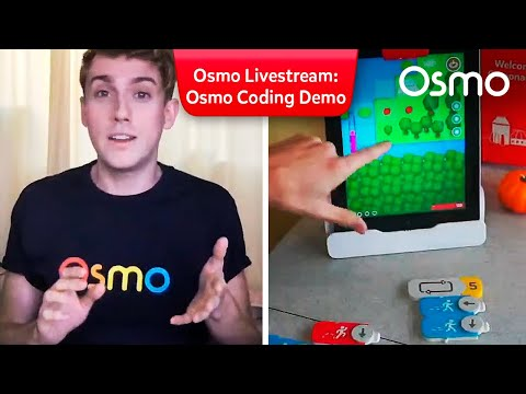 Osmo Livestream: Osmo Coding Games Demo