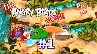 Angry Birds Epic: First 11Mins Gameplay/Walkthough Part-1 Level 1-3 (The Angry Birds Movie Fever)