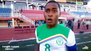 Extrait de la fin du match et les Entretiens ( Lesotho - Comores )