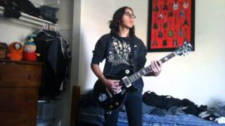 """Apocalyptica (Feat. Max Cavalera & Matt Tuck) """"Repressed"""" Guitar Cover"""