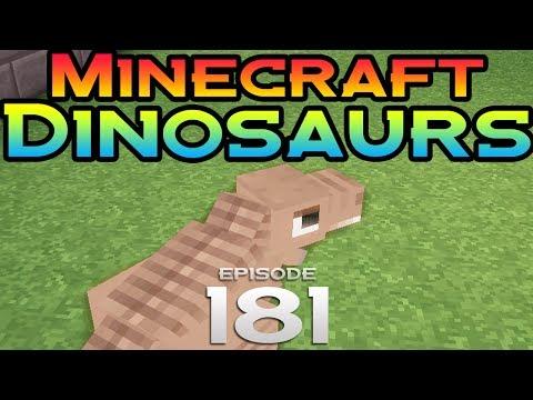 Minecraft Dinosaurs!  Episode 181  Dead to music
