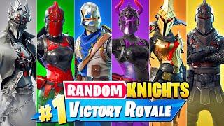 The *RANDOM* KNIGHT BOSS Challenge in Fortnite!
