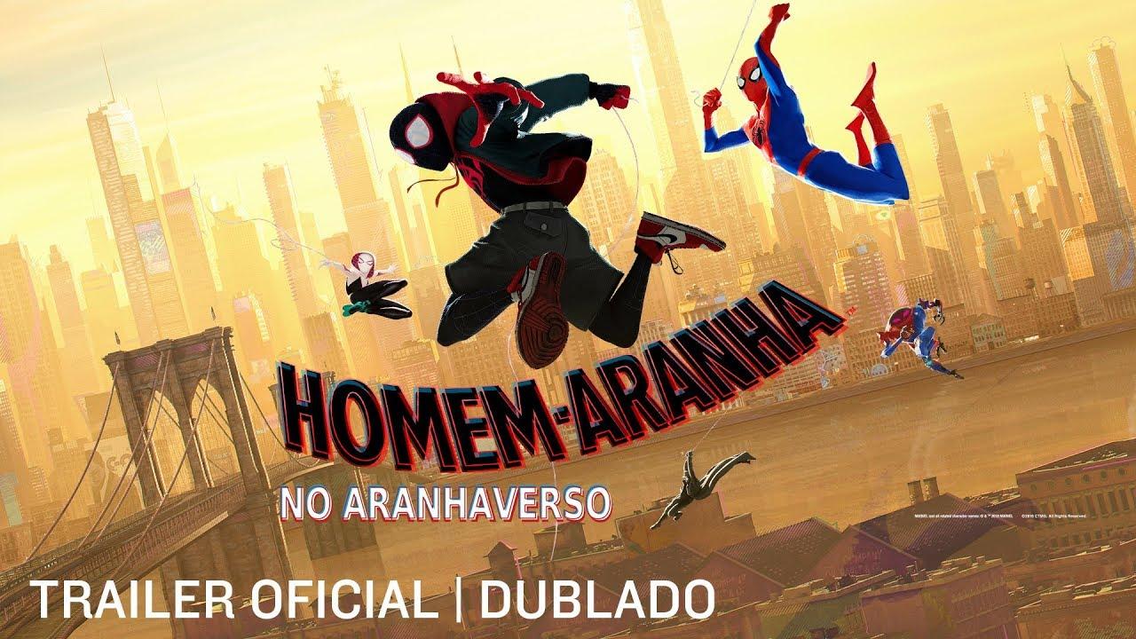 Homem Aranha No Aranhaverso Trailer 2 Dub 10 De Janeiro Nos Cinemas