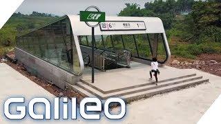 Die einsamste Metrostation der Welt | Galileo | ProSieben