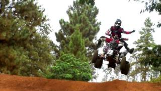 Raptor 700 GOES HUGE -  ATV Jumps