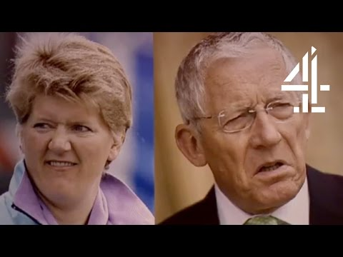 Clare Balding Shot A Sausage At The Queen | Was It Something I Said? - Outtake