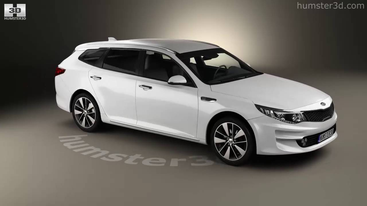Kia Optima Wagon 2017 Model By Humster