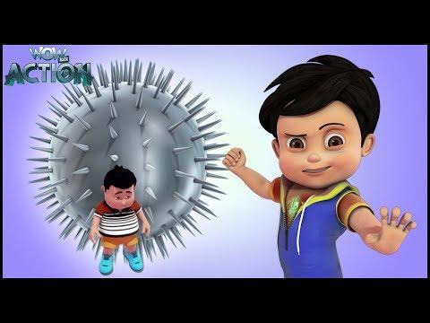 Hindi Kahaniya| Vir: The Robot Boy|Hindi Cartoon Video|Moral Stories for Kids|Invisible Power Attack