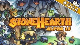 Stonehearth Alpha 15 #004 - Terrasse der Nahrung [Let