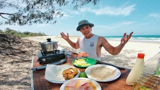EP 3 - Yellowtail KINGFISH! Fish n Chips Recipe (Clearest Water Ever)  Catch n Fry