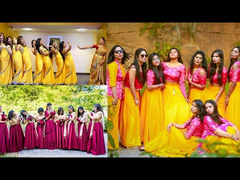 0068e2401b Matching outfits ideas for wedding/bride sister matching Indian outfits  ideas - YouTube