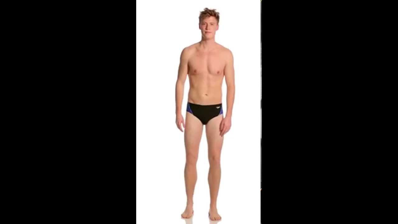 eea93e7fb3 Speedo Launch Splice Endurance + Brief | SwimOutlet.com - YouTube