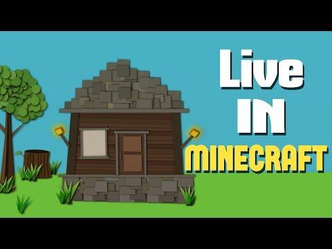 Live In Minecraft - Music Video