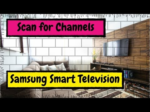How to Scan or Rescan for Channels with Your Samsung Smart TV - YouTube