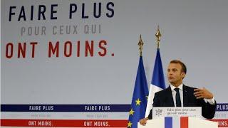 Plan pauvreté : Emmanuel Macron veut