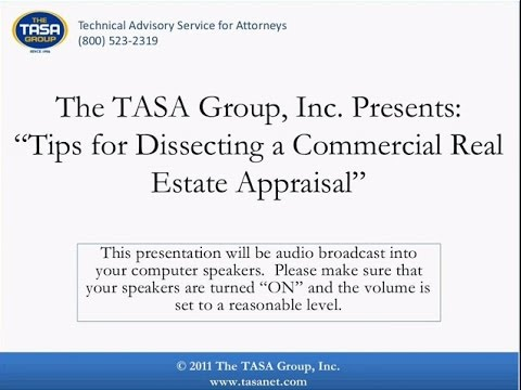 Tips for Dissecting a Commercial Real Estate Appraisal